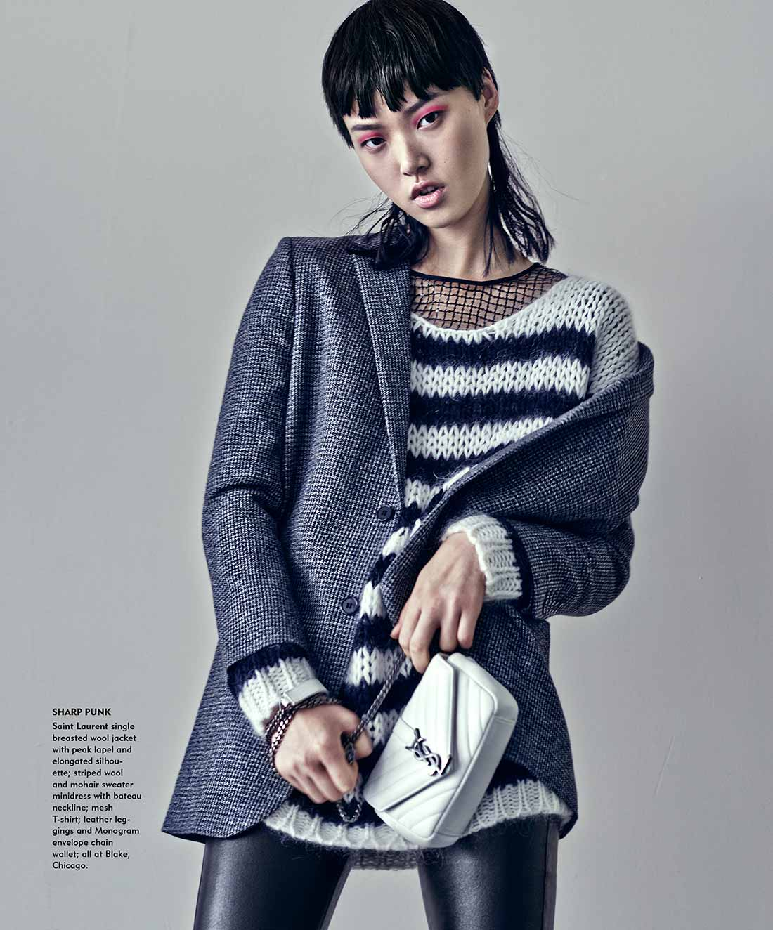 TRIBUNE FALL FASHION COVER 2015- PHOTOGRAPHED BY KEVIN SINCLAIRE STYLED BY TWOMUCHSTYLE